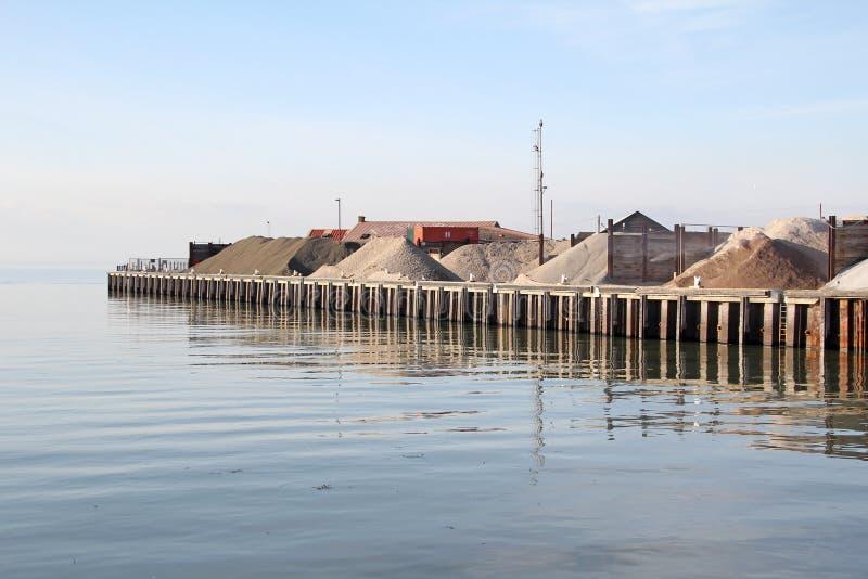 综合港口 库存照片