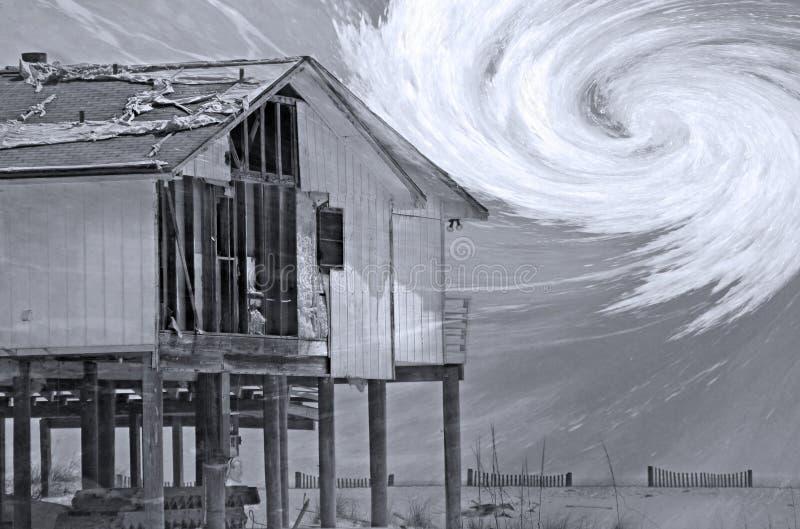 综合飓风季节 免版税库存照片