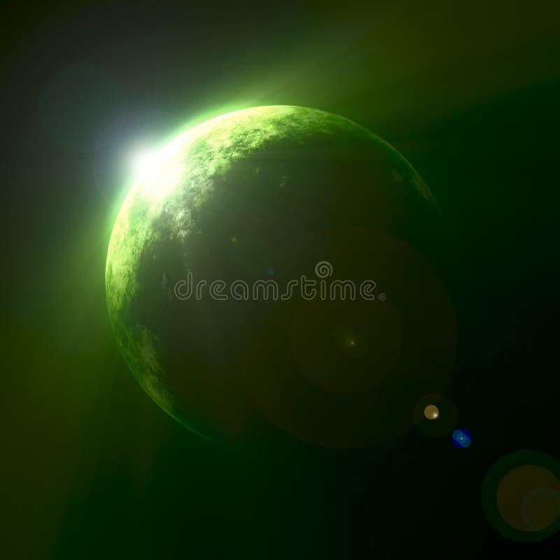 绿化行星 库存例证