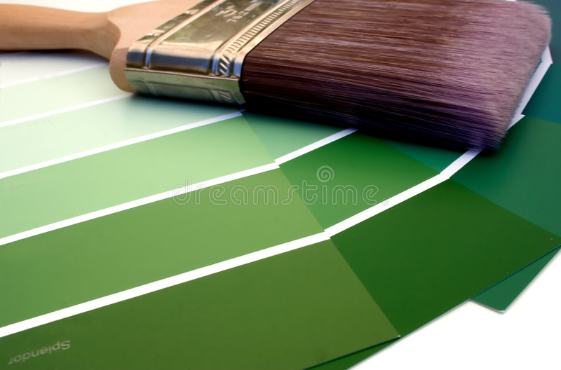 绿化辉煌 库存图片