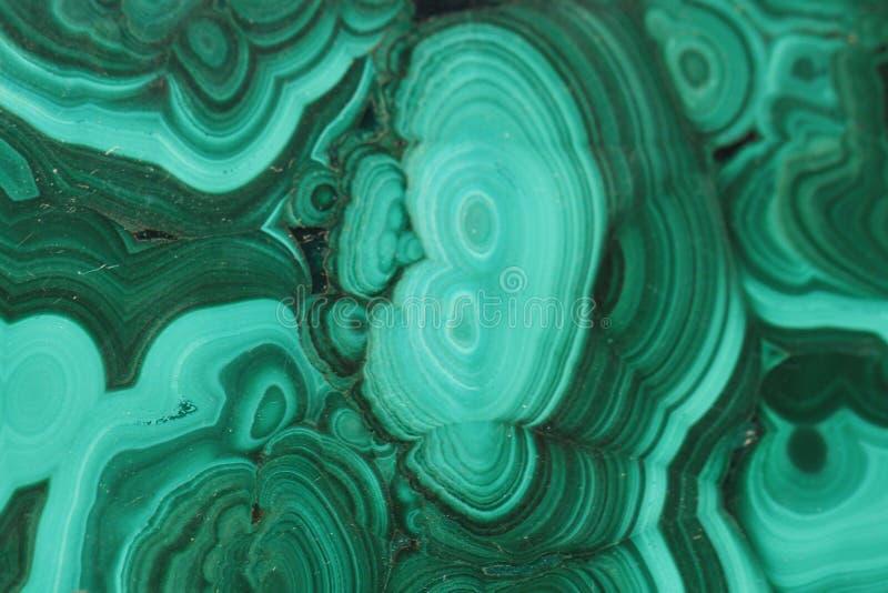 绿沸铜矿物背景 免版税库存照片
