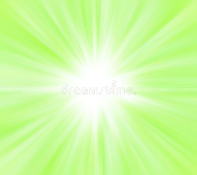 绿灯星形 向量例证