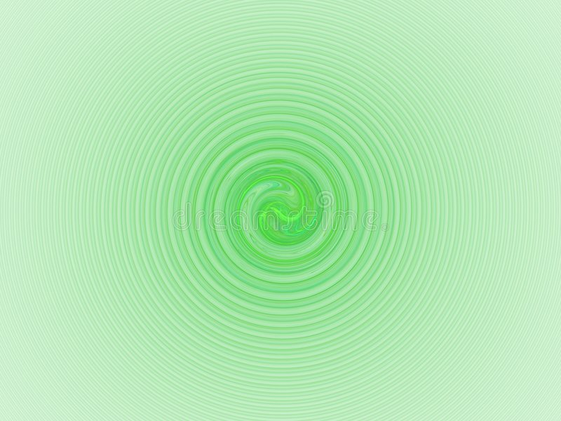 绿灯螺旋 库存例证
