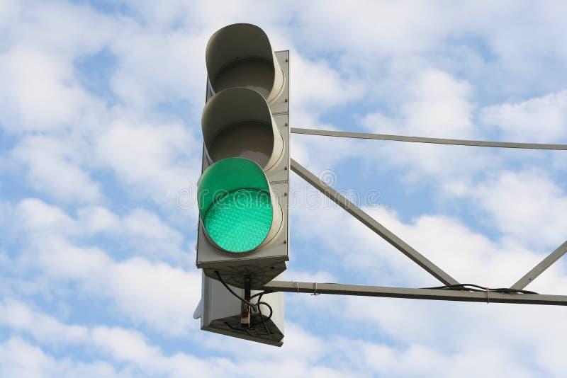 绿灯 库存图片