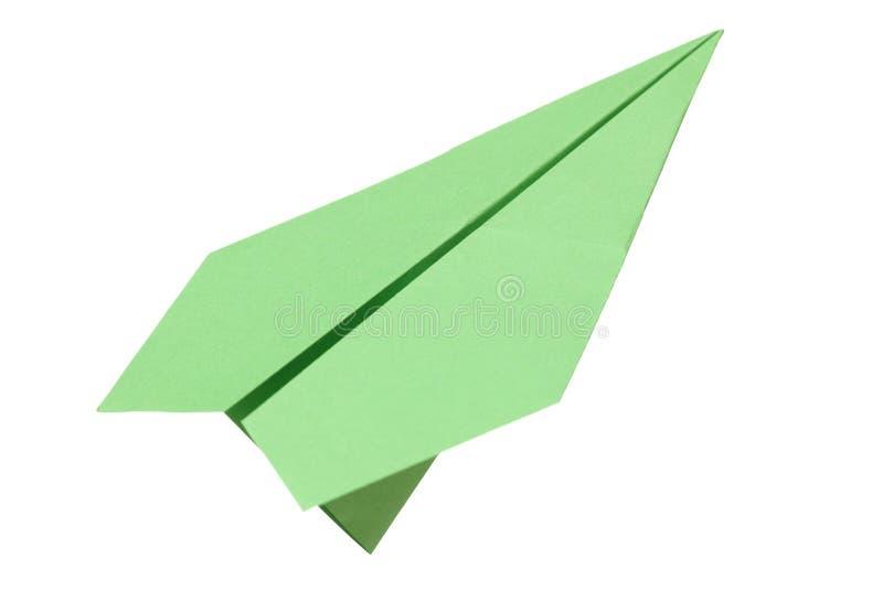 绿皮书飞机 免版税库存照片