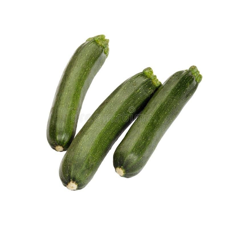 绿皮胡瓜。 免版税库存图片