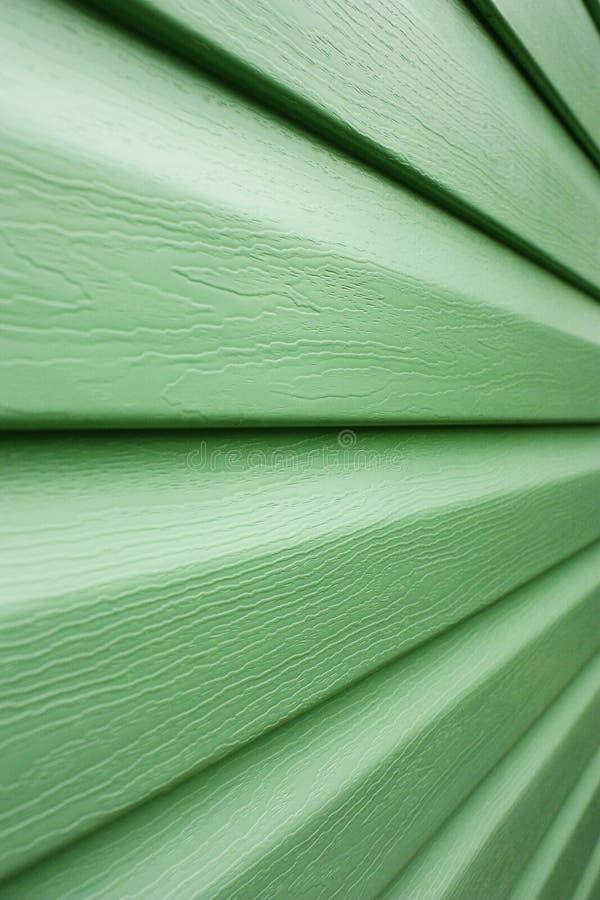 绿线透视图 免版税库存照片