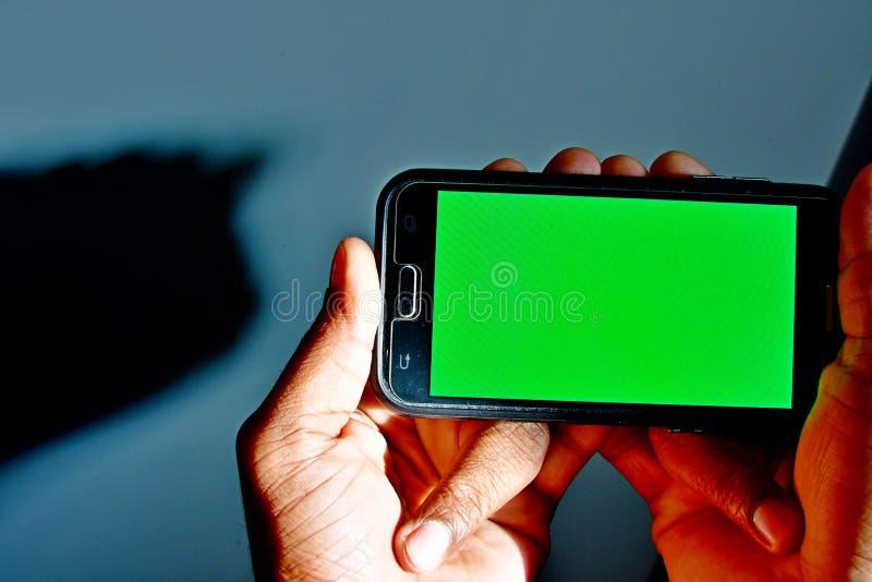 绿色使用的屏幕准备好背景作为背景或模板在网络设计 库存照片