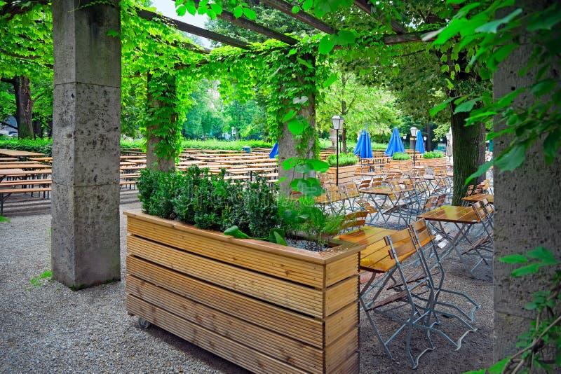 绿色公园慕尼黑,德国 免版税库存照片