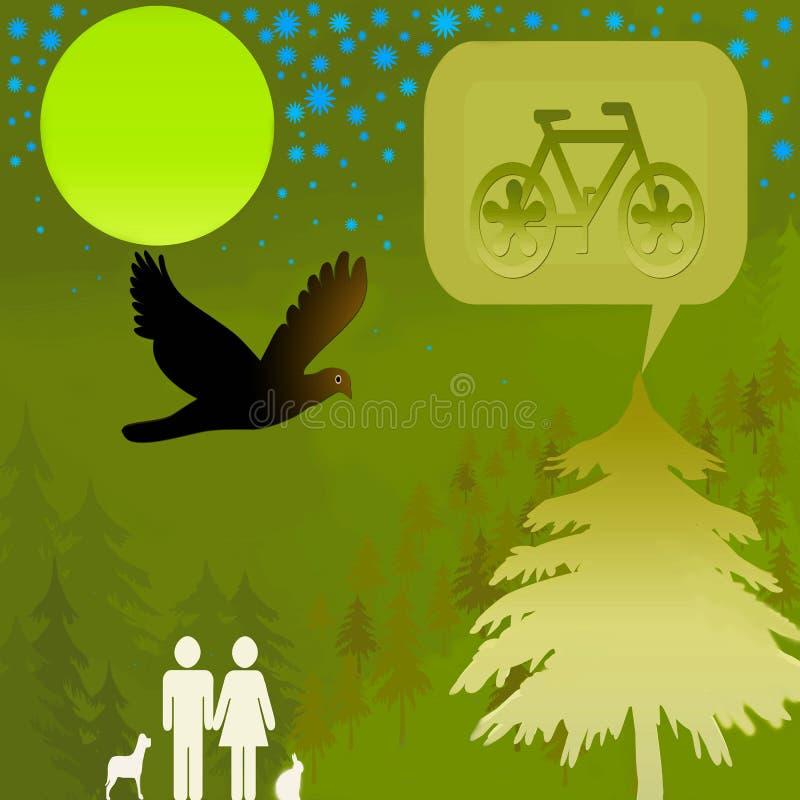 绿色和平 免版税库存照片
