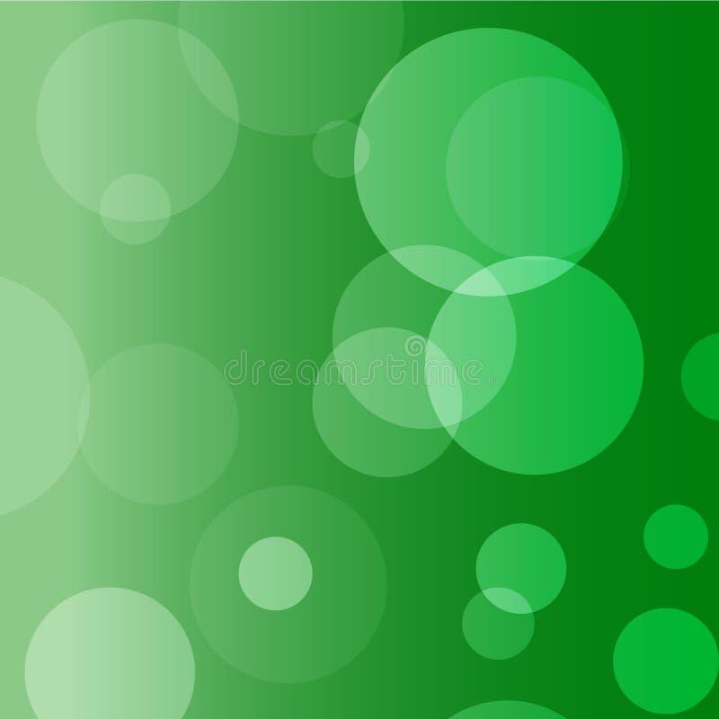 绿色圈子背景 免版税库存图片