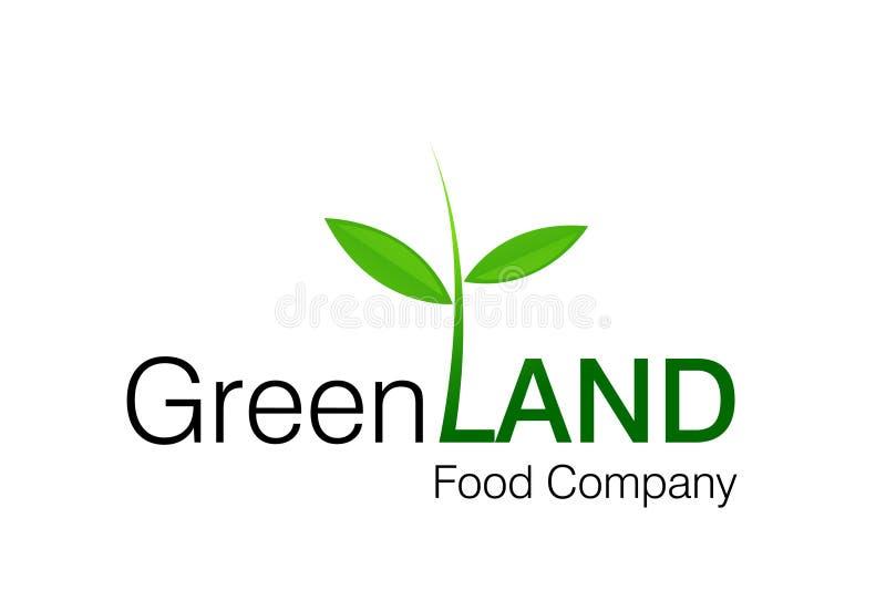 绿色地产徽标