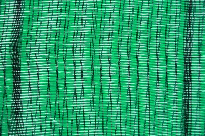 绿色塑料织法 图库摄影