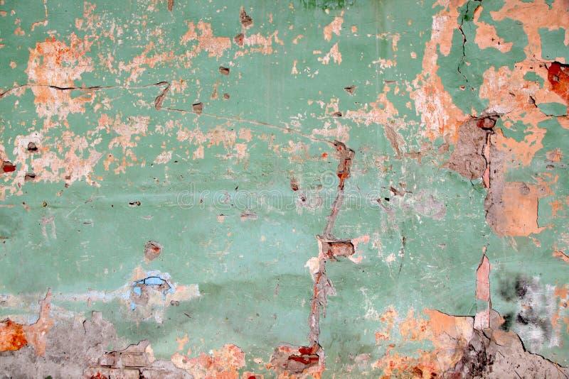 绿色墙壁 库存照片