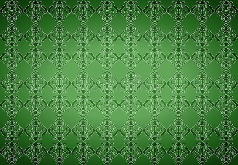 绿色墙纸 皇族释放例证