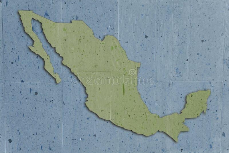 绿色墨西哥石头 库存例证