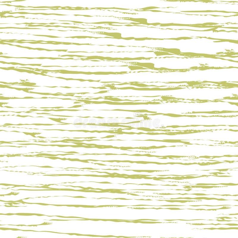 绿色布料纹理背景 您的新自然设计的传染媒介例证 书套 织品明亮的生态帆布 库存例证