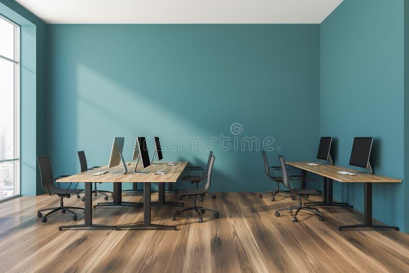 绿色开放学制办事处内部 向量例证