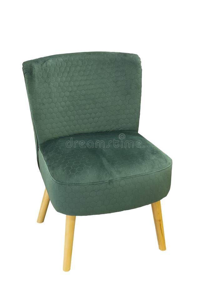 绿色当代椅子 库存图片