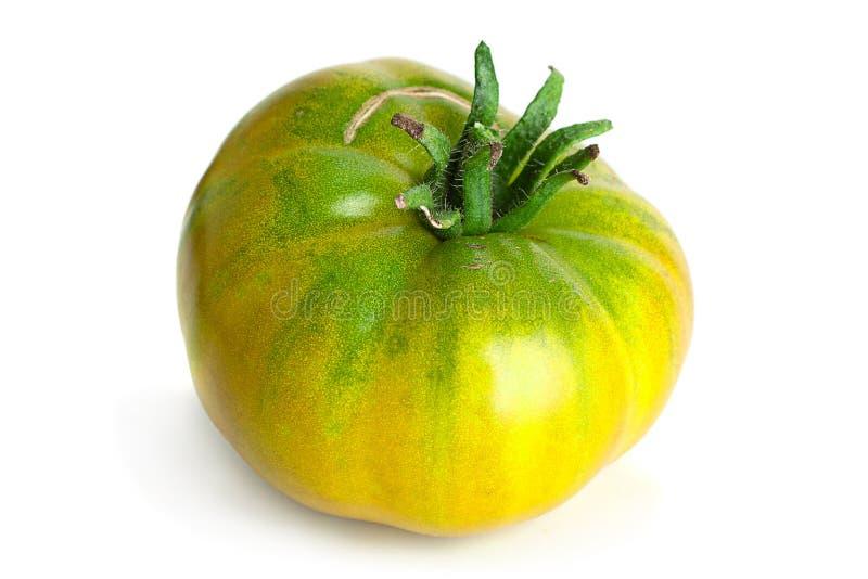 绿色成熟大蕃茄 免版税库存图片