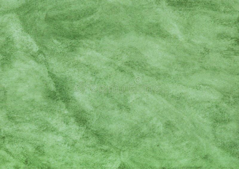 绿色摘要纺织品大理石纹理 免版税库存图片