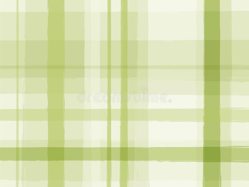绿色数据条 向量例证
