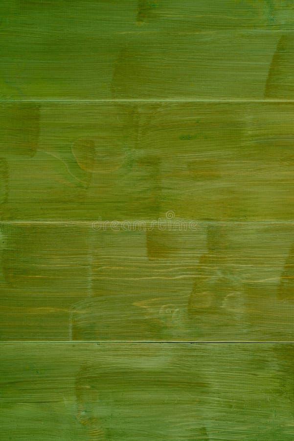 绿色木背景 免版税库存照片