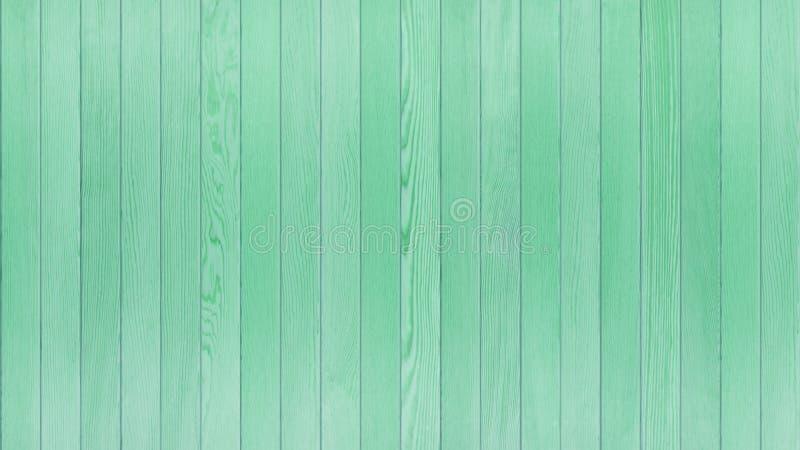 绿色木表,木纹理背景顶视图16:9比率 库存图片