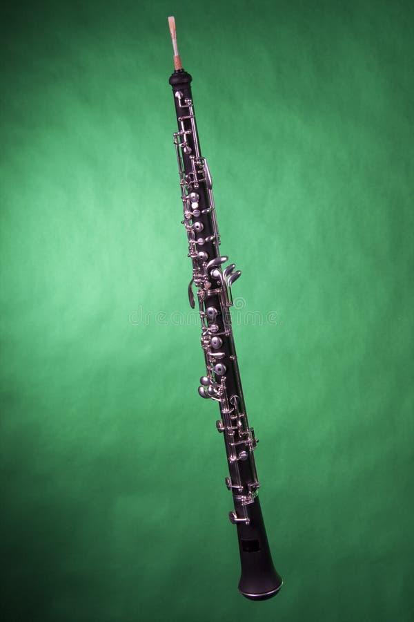 绿色查出的oboe 库存照片