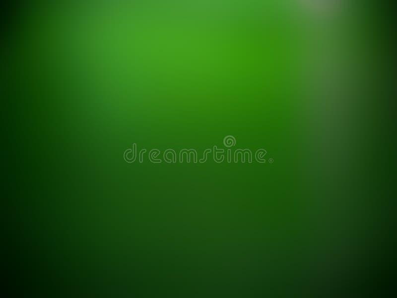 绿色梯度圣帕特里克` s天背景 图库摄影
