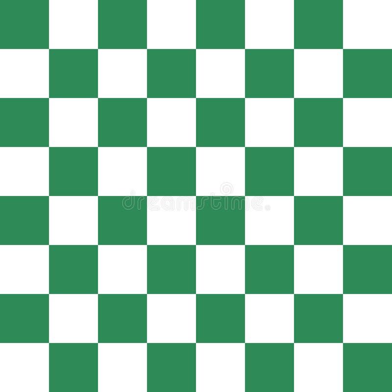 绿色棋盘传染媒介 皇族释放例证