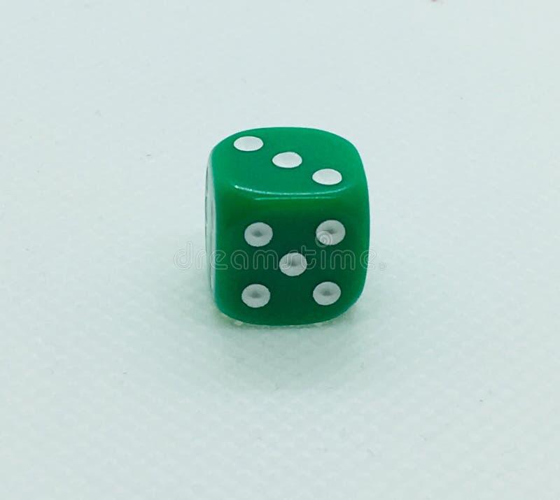 绿色模子 免版税图库摄影