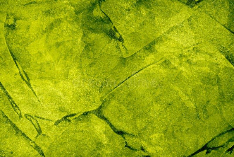 绿色水彩 免版税库存照片