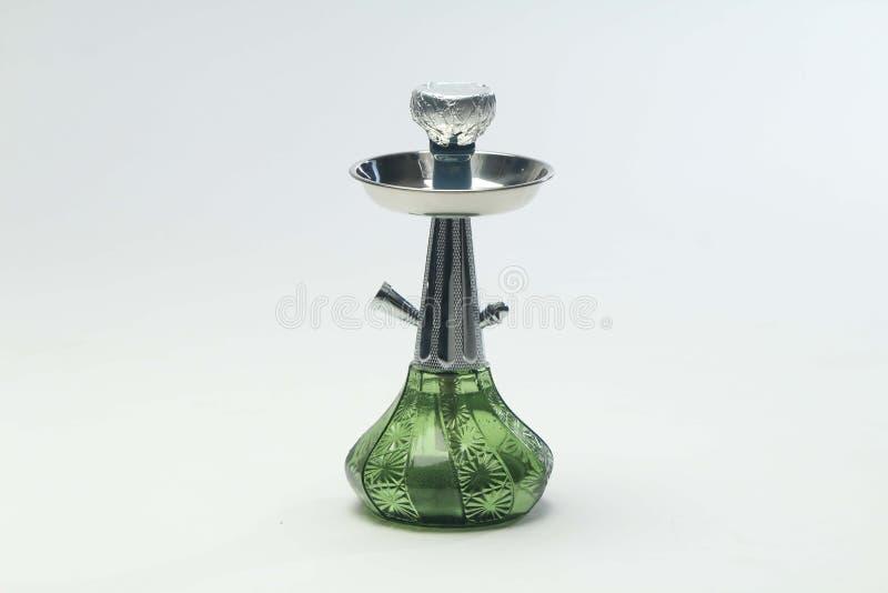 绿色水烟筒 免版税库存照片