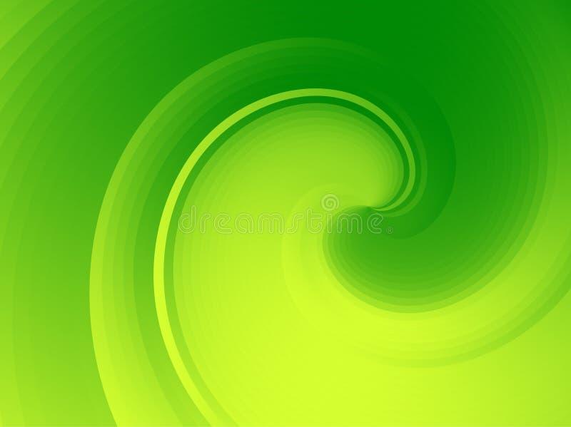 绿色波浪 皇族释放例证