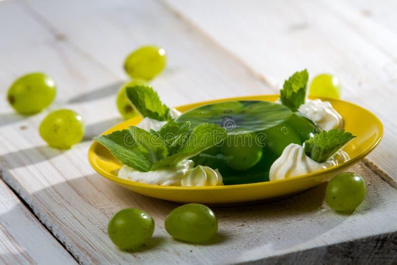 绿色点心供食用果子 库存照片
