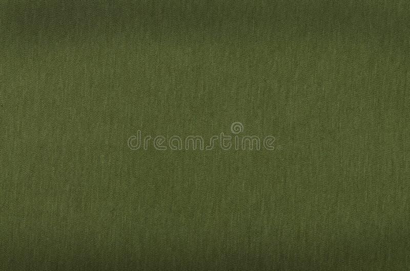 绿色画布纹理或背景 免版税库存图片