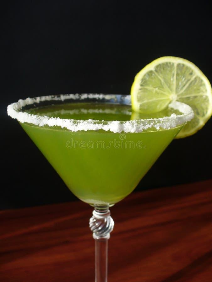 绿色石灰玛格丽塔酒 库存图片