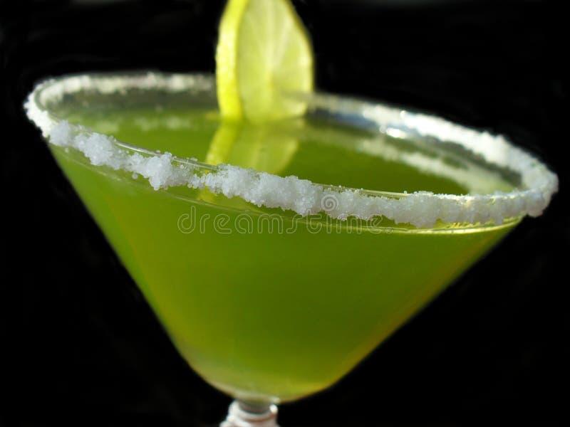 绿色石灰玛格丽塔酒 库存照片