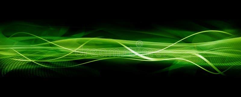 绿色纹理通知 皇族释放例证