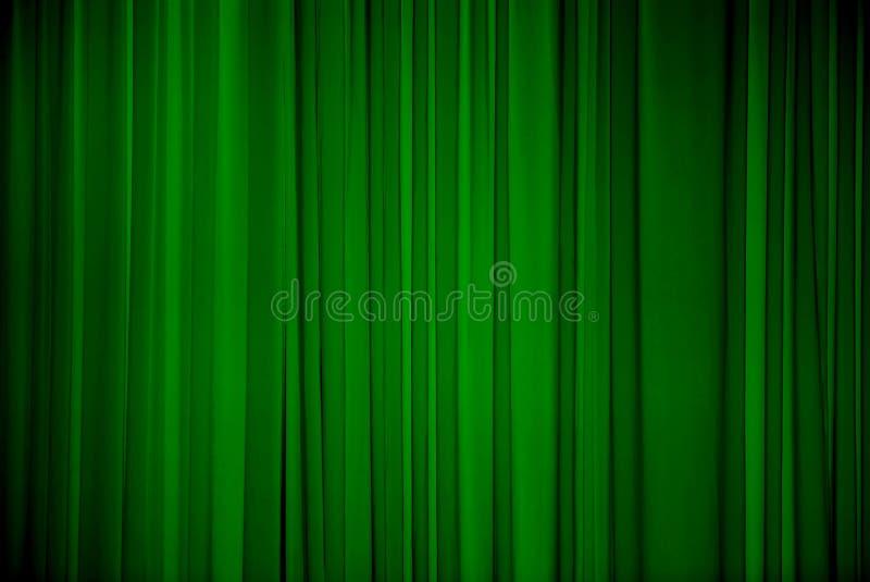 绿色织品背景 库存例证