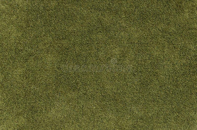 绿色绒面革 库存照片