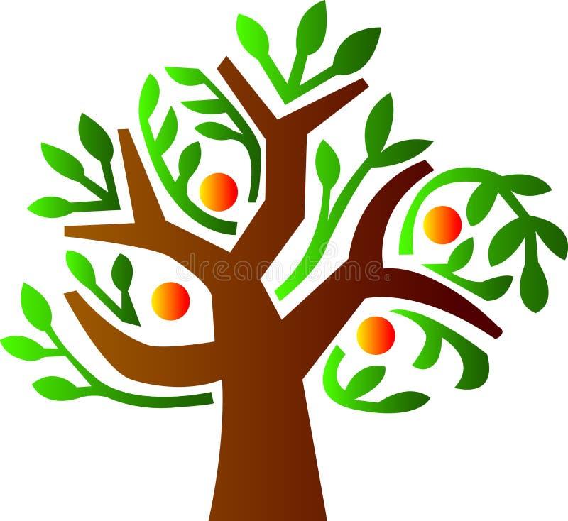 绿色结构树 库存例证