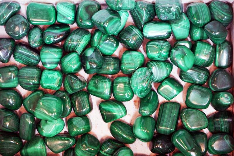 绿色绿沸铜矿物纹理 库存照片