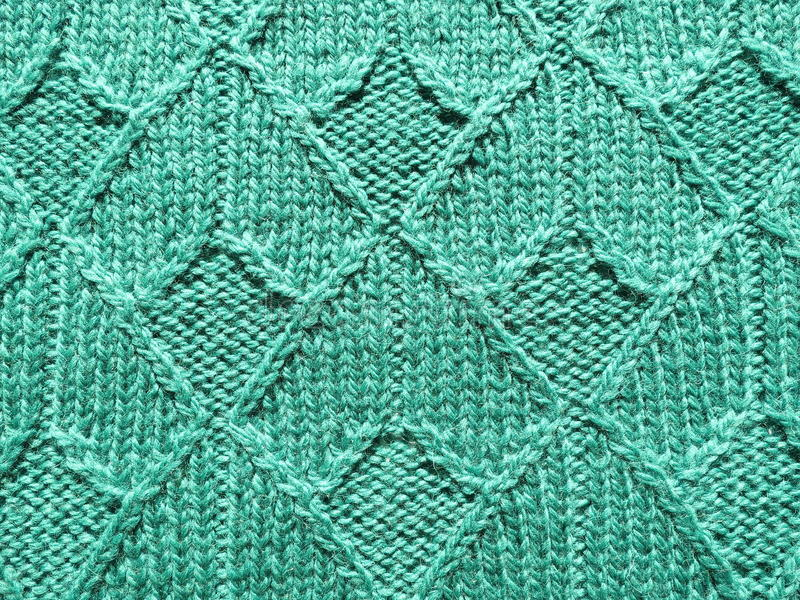 绿色编织 图库摄影