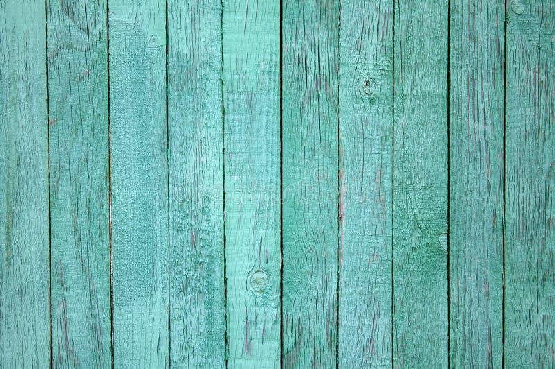绿色葡萄酒困厄的木板 免版税库存照片