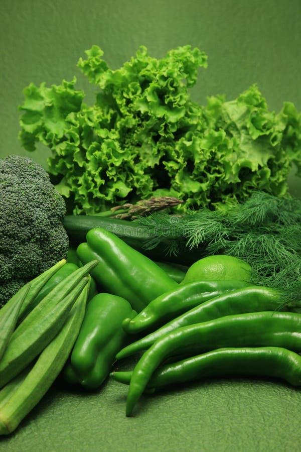 绿色蔬菜 库存照片