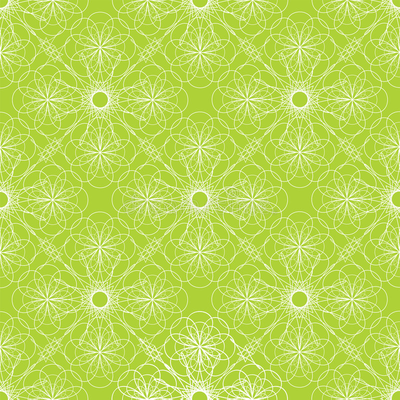 绿色螺旋 皇族释放例证