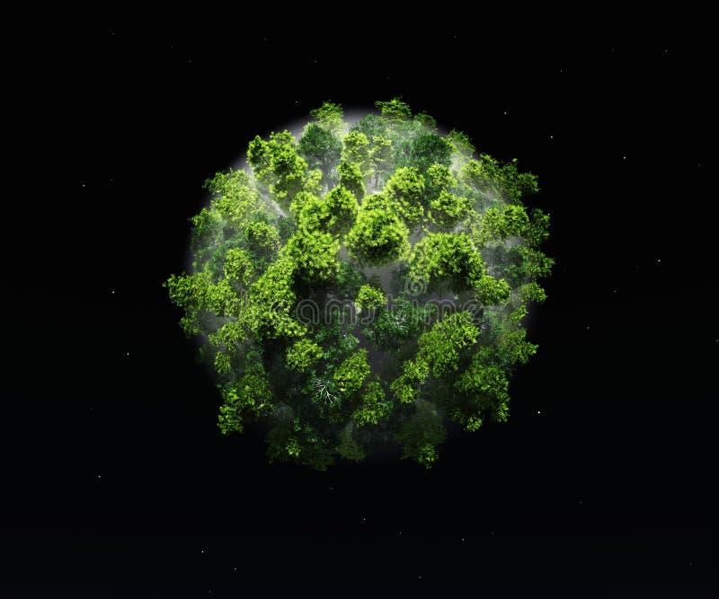 绿色行星生态和自然 库存照片
