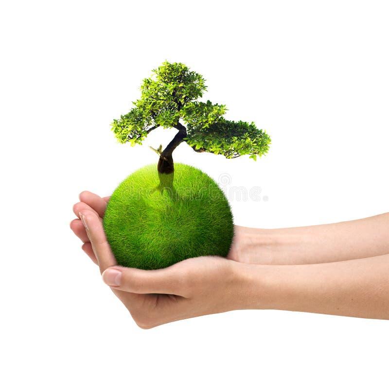 绿色行星 图库摄影